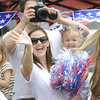 Jennifer Garner and Family on Fourth of July