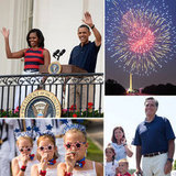 The Obamas, Mitt Romney, and Americans All Over Celebrate the Fourth of July