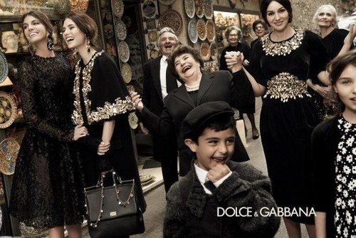 Dolce & Gabbana Fall 2012 Ad Campaign