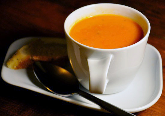 Cream of Fresh Tomato Soup