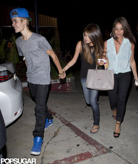 Justin and Selena Step Out Holding Hands Amid Breakup Rumors