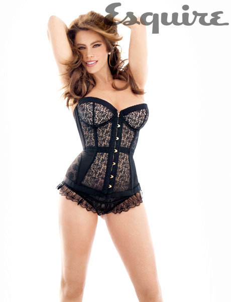 Sofia Vergara donned a skimpy look in the pages of Esquire's April 2012 issue.