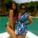 Sofia Vergara and a friend posed on the water in May 2012. 