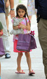 Katie Holmes and Suri Cruise Enjoy a Girls' Day Out in NYC