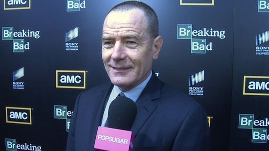 Video: Bryan Cranston on Wearing Hazmat Suits at Comic-Con and Emmy Morning