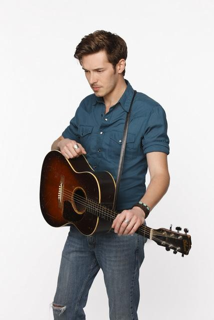 Sam Palladio on Nashville.