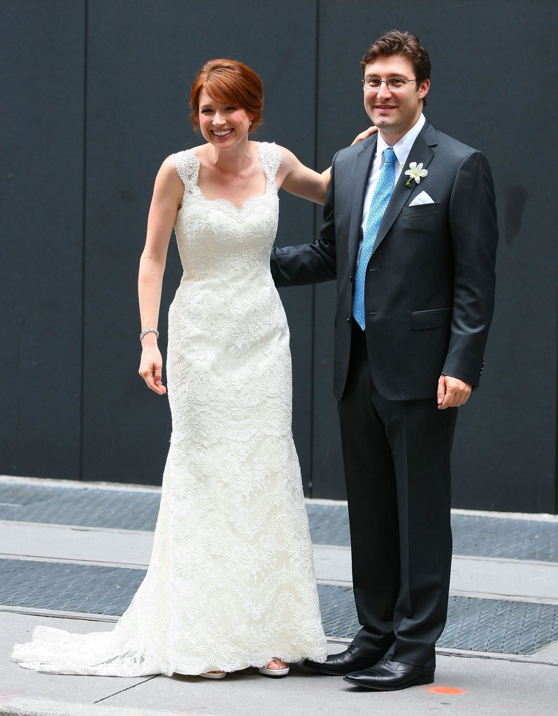 Ellie Kemper Wedding Pictures | POPSUGAR Celebrity