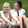 Dakota Fanning and Elizabeth Olsen Very Good Girls Pictures