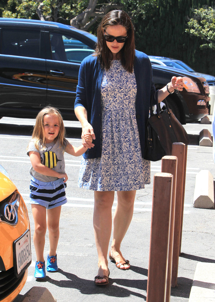 Seraphina Affleck wore an adorable outfit.
