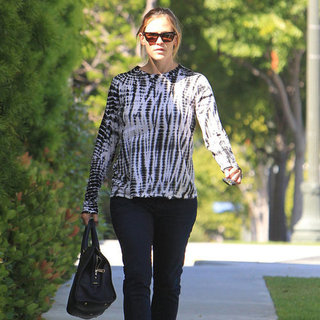 Jennifer Garner Business Meeting Pictures