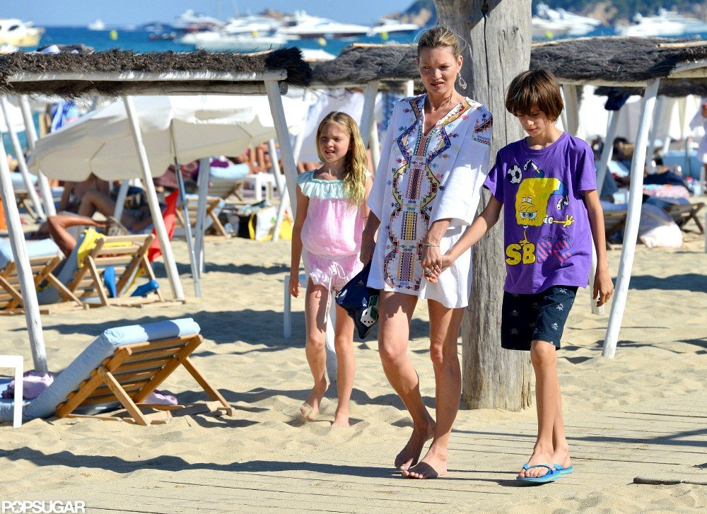Kate Moss was in St. Tropez.
