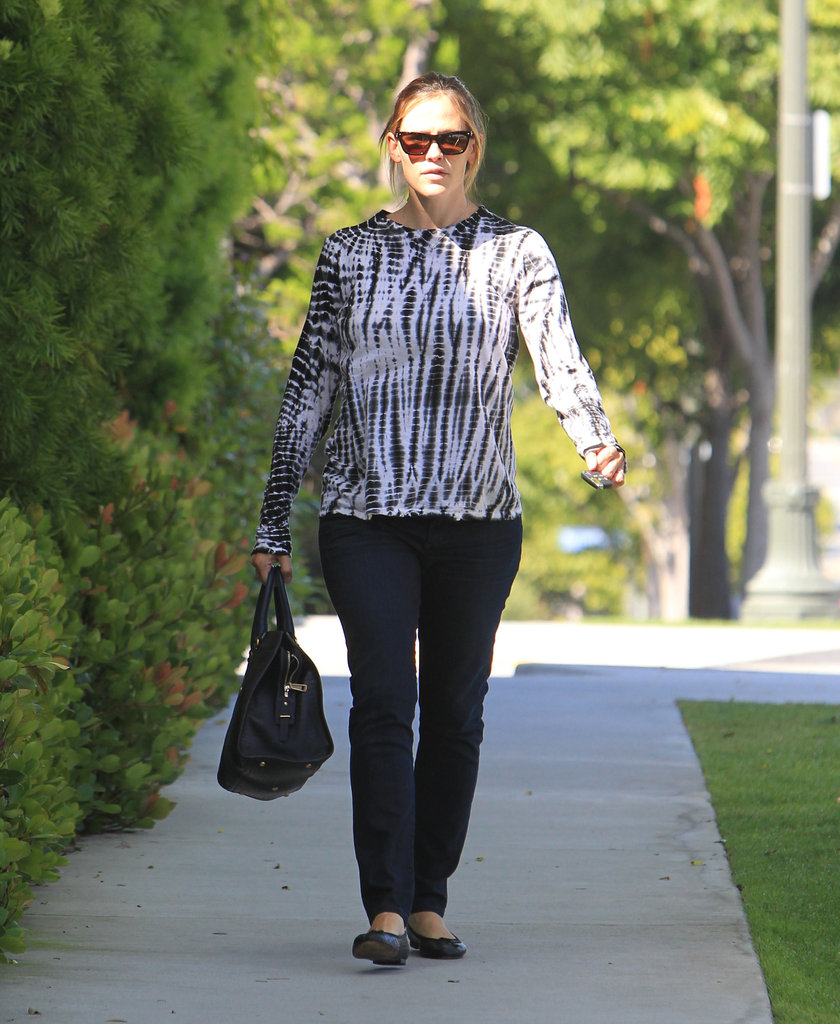 Jennifer Garner stepped out to a meeting in LA.