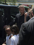 Angelina Jolie Packs Up and Takes Off From Sarajevo With Shiloh, Zahara, and Pax