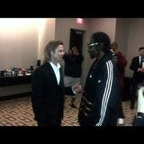 Snoop Dogg chatted with Brad Pitt. Source: Instagram user snoopdogg