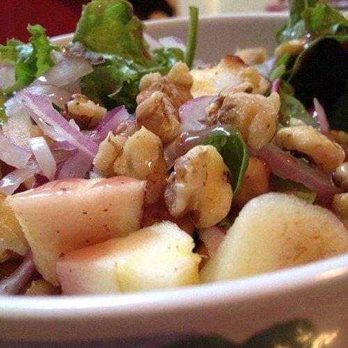 Apple-Walnut Salad Recipe