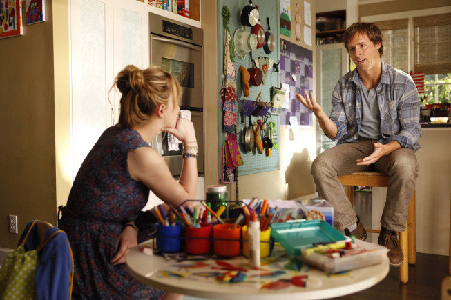 Nat Faxon and Dakota Johnson on Ben and Kate. Photo courtesy of Fox