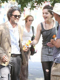Keira Knightley Gets Down to Work With Mark Ruffalo and Hailee Steinfeld