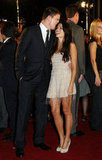 Channing Tatum kissed Jenna Dewan on the red carpet at the Japan premiere of G.I. Joe: The Rise of Cobra in July 2009.