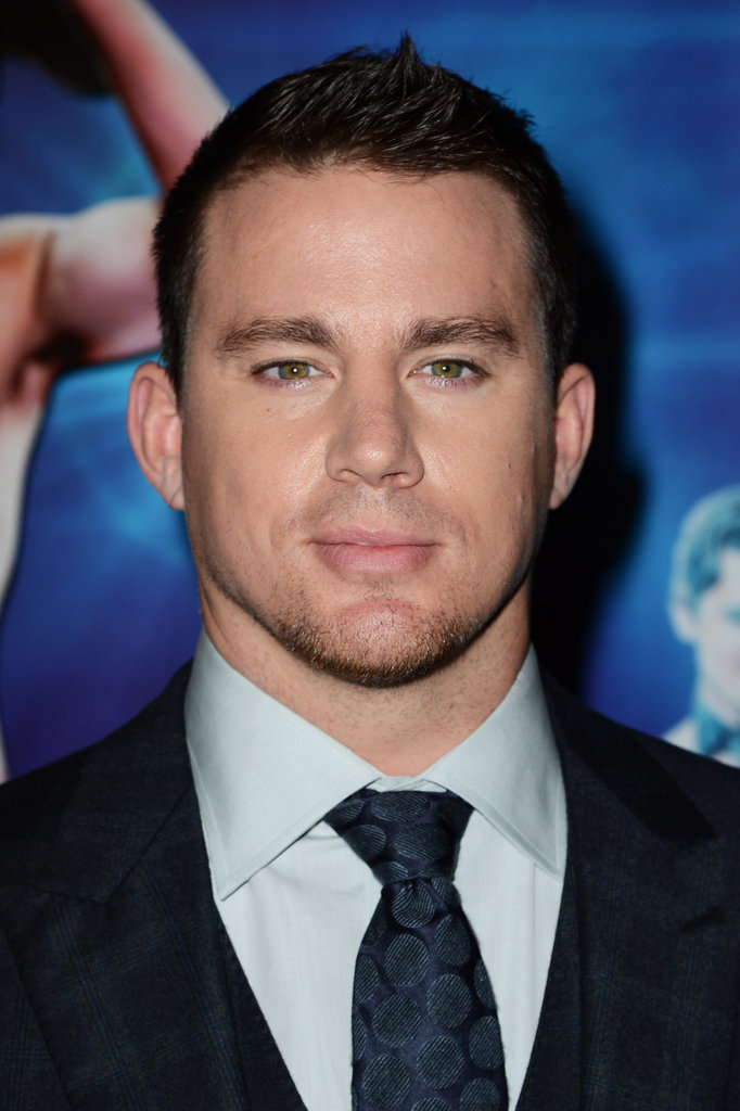 Channing Tatum looked dapper at the Magic Mike premiere in London.