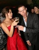 Jenna Dewan and Channing Tatum got goofy at the August 2006 premiere of Step Up in LA.