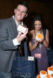 Channing Tatum and Jenna Dewan got excited at a gifting suite in LA in December 2006.