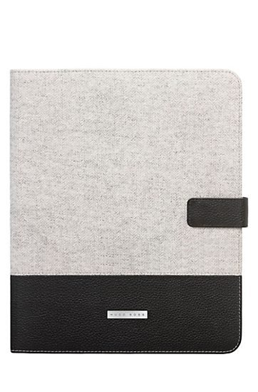 Hugo Boss Wool and Leather Inverness iPad 2 Case ($120)