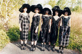 A goth-inspired lineup in Marc Jacobs's Fall ads.