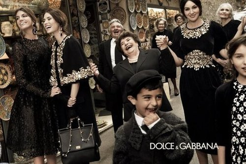 Is it just us or does this Dolce & Gabbana ad make you want to be right there with them?