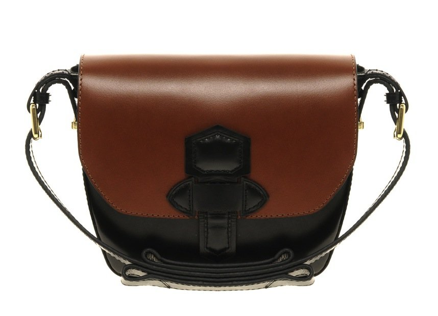 When we spotted this two-toned leather satchel, we knew it had to be ours. It's a slick combination of countryside cool meets easy functionality. Asos Leather Two Tone Satchel ($75)