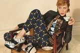 Chloe Sevigny is the newest face of Miu Miu, wearing the brand's quirky prints effortlessly.