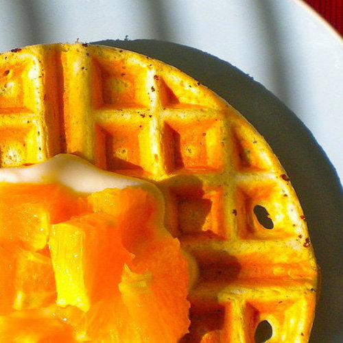 Perk up your morning — and your taste buds — with these citrus poppyseed waffles. Honestly, what goes better with poppy seeds than a little citrus?