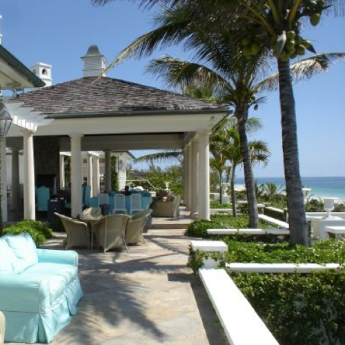 Mariah Carey and Nick Cannon Bahamas Home Pictures
