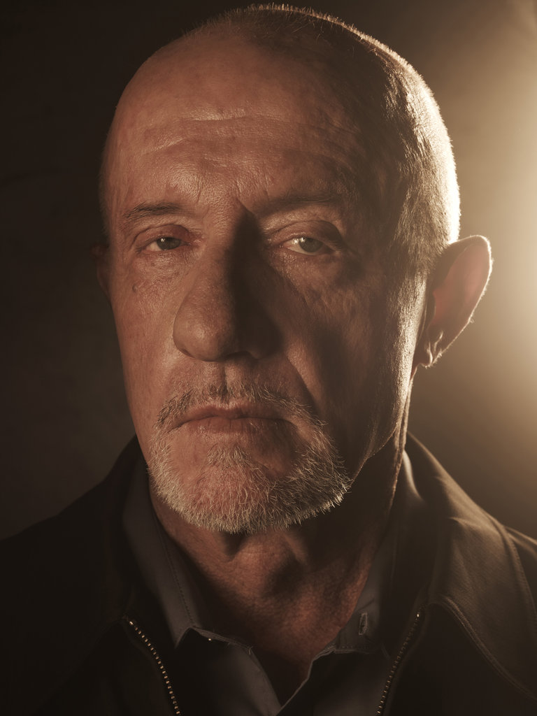 Jonathan Banks on Breaking Bad. Photo courtesy of AMC