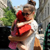 Katie Holmes and Suri Cruise at the Zoo in NYC Pictures