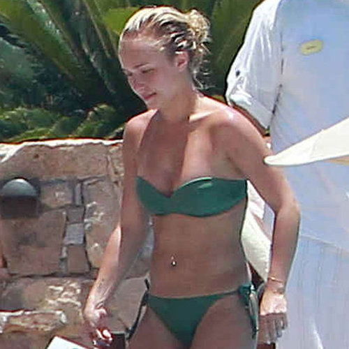 Hayden Panettiere Bikini Pictures With Boyfriend