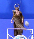 Angelina Jolie Takes Flight For Maleficent