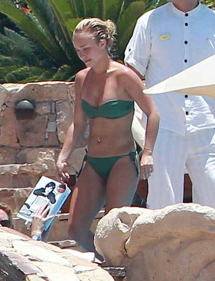 Hayden Panettiere Sports a Skimpy Bikini South of the Border With Her Man