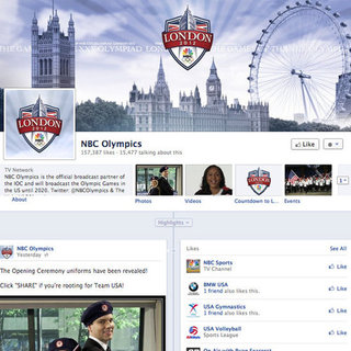 NBC 2012 Olympics on Facebook