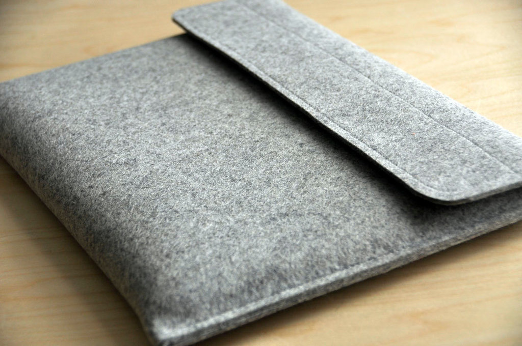 Wool Felt Laptop Sleeve ($50)