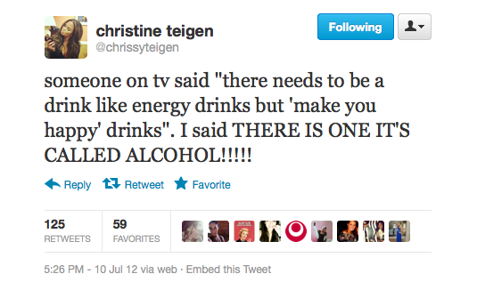 Chrissy makes a good point.