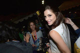 Ashley Greene hung out with fans at the Breaking Dawn Part 2 party at Comic-Con.