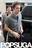 Robert Pattinson went into Comic-Con.