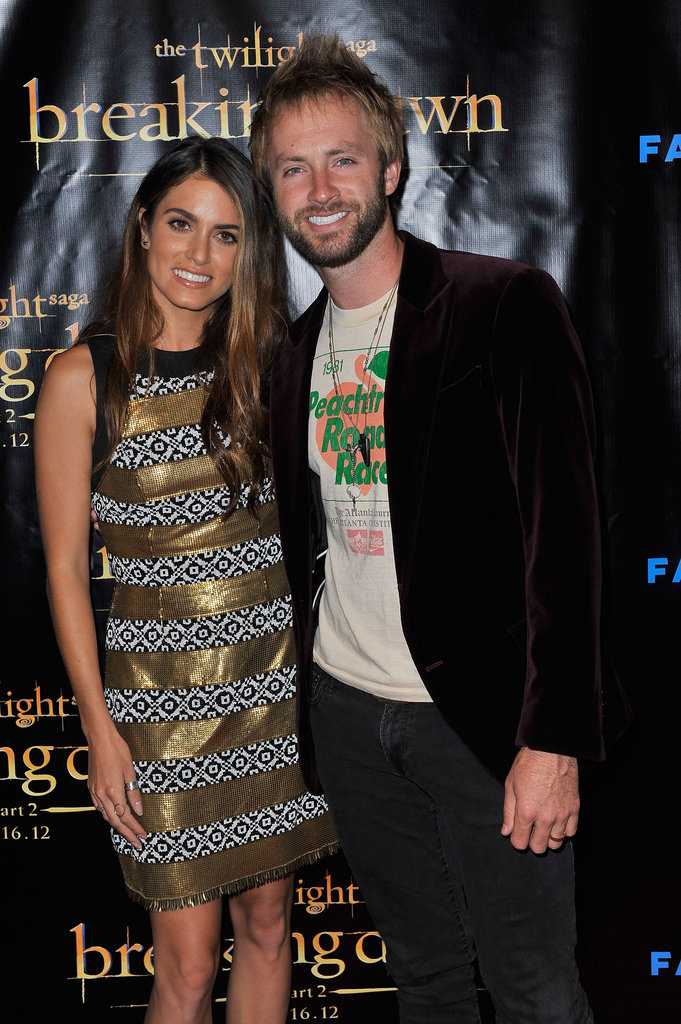 Nikki Reed and Paul McDonald stuck together at the Breaking Dawn Part 2 party at Comic-Con.
