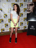 Kristen Stewart hit the red carpet at Comic-Con.