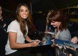 Nikki Reed spent time with fans outside of the Brea