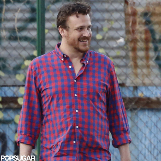 Jason Segel went out in Brooklyn.