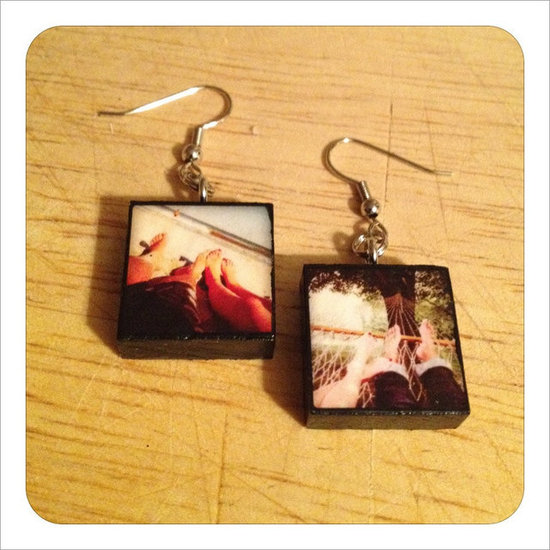 Custom Instagram Earrings