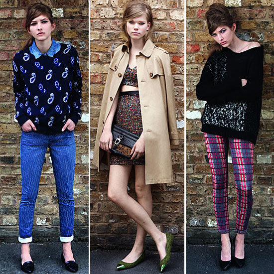 London Darling: Topshop Plays to British Punk and Polish For A/W '12