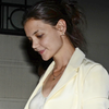 Katie Holmes Wears Leather Pants in NYC (Video)