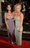 Olivia Munn and Hayden Panettiere